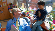 Photo of John M. Maris, MD with Child
