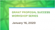 Grant Proposal Success Workshop Series