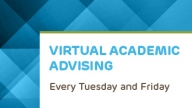 ATOP Virtual Advising
