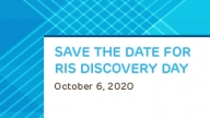 RIS Discovery Day