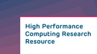 High Performance Computing Research Resource