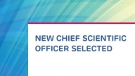 New Chief Scientific Officer Selected