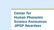 Center for Human Phenomic Science Announces JIPGP Awardees